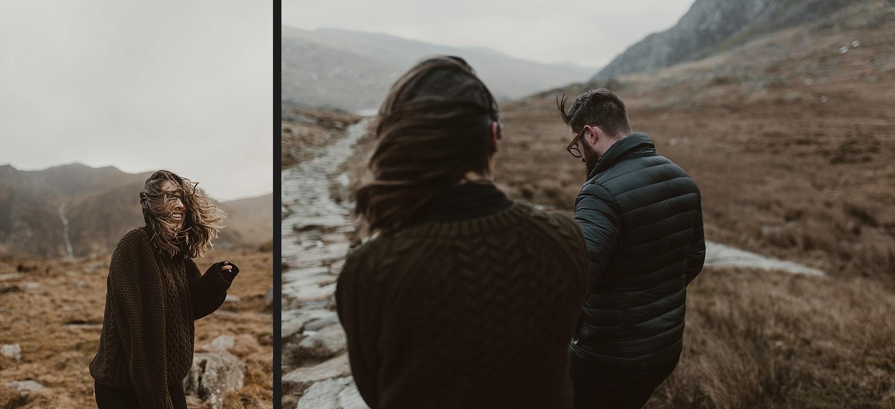 Engagement shoot snowdonia